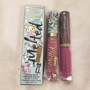 Sephora Too Faced and Urban Decay Lipstick Bundle